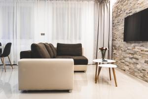 Posezení v ubytování SILESIA Apartment