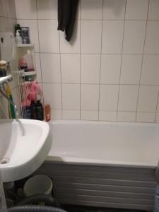 A bathroom at голубое