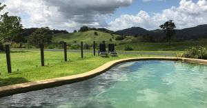 The swimming pool at or near Hillcrest Mountain View Retreat