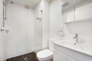 A bathroom at Bondi Beach Studios Suite 1