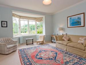 A seating area at The Old Vicarage