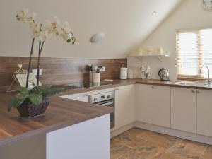 A kitchen or kitchenette at Forest Cottage