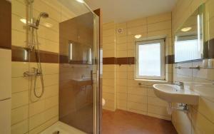 A bathroom at Pensjonat Arnika