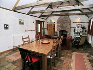 A restaurant or other place to eat at Chalk Barn