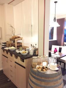 Frühstücksoptionen für Gäste der Unterkunft Landgasthof Struckum