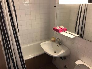 Ein Badezimmer in der Unterkunft Salzburg Apartments Business