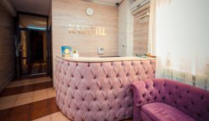 The lobby or reception area at Hotel Kazantel