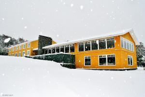 Lakutaia Lodge en invierno