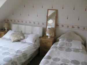 A bed or beds in a room at Kilkerran Guest House