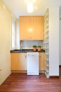 Una cocina o zona de cocina en Celling La latina by Batuecas