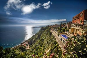 A bird's-eye view of Il Gelsomino Taormina Center