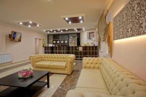 The lobby or reception area at Hotel Marton Gordeevsky