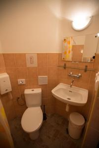 Kúpeľňa v ubytovaní Hotel Jeleň