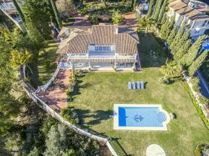A bird's-eye view of Cubo's Villa Las Colinas