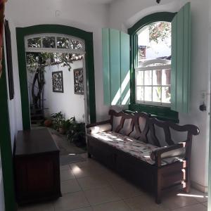 A seating area at Pousada Sonho Meu