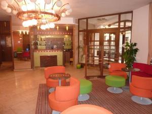 Hall o reception di Grandhotel Garni