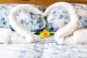 Cama o camas de una habitación en Apartamento Juan de Herrera