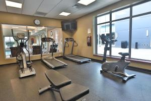 The fitness center and/or fitness facilities at Wind Creek Bethlehem Casino & Resort