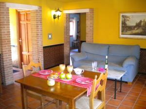 A seating area at La Estancia Villa Rosillo