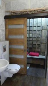 A bathroom at Maison Rorqual
