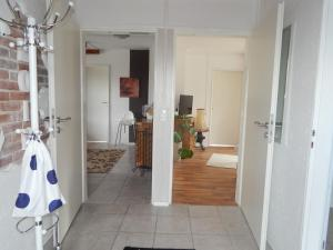 Ein Badezimmer in der Unterkunft Ferienhaus am Loogenweg