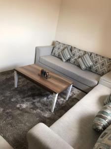 A seating area at Appartement Gueliz