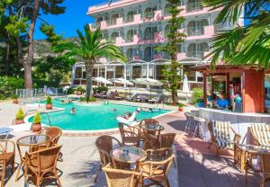 The swimming pool at or near Tolon Holidays Hotel