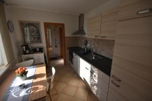Küche/Küchenzeile in der Unterkunft Ferienhaus Abendsonne
