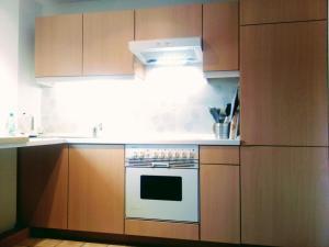 Küche/Küchenzeile in der Unterkunft Ferienwohnung Bad Oldesloe