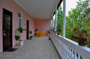 A balcony or terrace at Sofia Guest House
