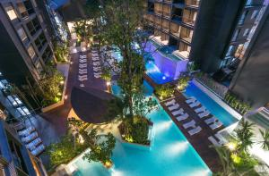 A view of the pool at Panan Krabi Resort or nearby