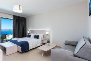 Vuode tai vuoteita majoituspaikassa Sun and Sea Plus Resort