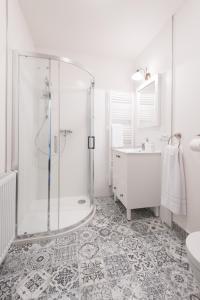 Koupelna v ubytování NA KRÁSNÉ VYHLÍDCE