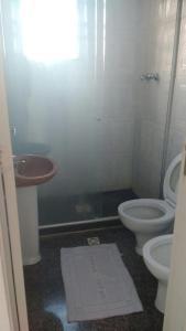 A bathroom at Hotel Campones