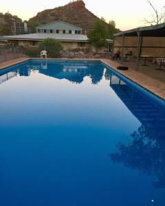 The swimming pool at or close to Arkaroola Wilderness Sanctuary