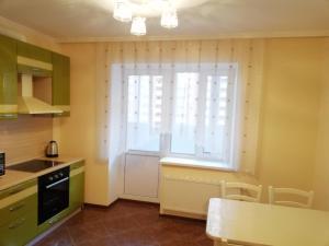 "Кухня или мини-кухня в Apartment ""Victoriya"" on Prospekt Lenina"