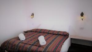 A bed or beds in a room at Petra Bedouin Bed and Breakfast
