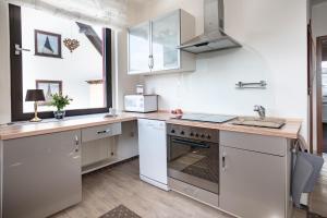 Küche/Küchenzeile in der Unterkunft Haus Quentin
