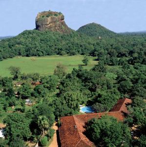 A bird's-eye view of Sigiriya Village