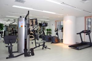 Gimnasio o instalaciones de fitness de Kingswell Hotel Tongji