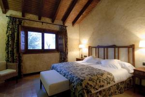 Cama o camas de una habitación en Cortijo Finca La Solana 1878