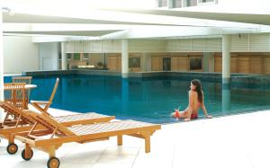 The swimming pool at or near Cinnamon Grand Colombo
