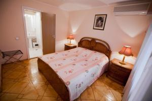 Кровать или кровати в номере Гостиница Звезда Жигулей