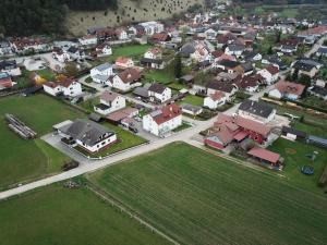 A bird's-eye view of Gästehaus Lehr