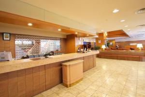 The lobby or reception area at Hotel Regina Kawaguchiko