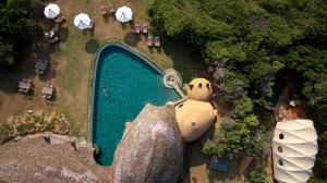 A view of the pool at Wild Coast Tented Lodge All Inclusive - Level 1 Safe & Secure or nearby