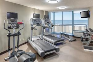 The fitness center and/or fitness facilities at Courtyard Virginia Beach Oceanfront/South