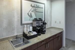 A kitchen or kitchenette at Courtyard Virginia Beach Oceanfront/South