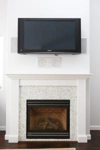 A television and/or entertainment center at Tourmaline House