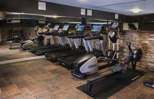 The fitness center and/or fitness facilities at Opus XVI